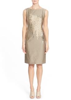 Lafayette 148 New York 'Floral Faith' Sheath Dress