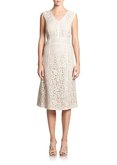 Lafayette 148 New York Floral Lace Essie Dress