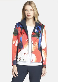 Lafayette 148 New York 'Floral Splash' Jacket