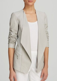 Lafayette 148 New York Florencia Leather Jacket