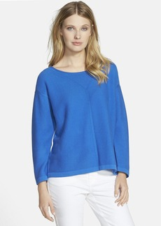 Lafayette 148 New York 'Fresco' Cotton Sweater (Nordstrom Exclusive)