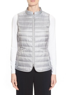 Lafayette 148 New York Frosted Quilted Vest
