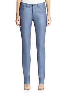 Lafayette 148 New York Frosted Slim-Fit Jeans