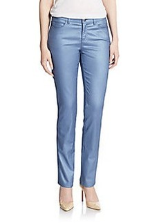 Lafayette 148 New York Frosted Straight-Leg Jeans