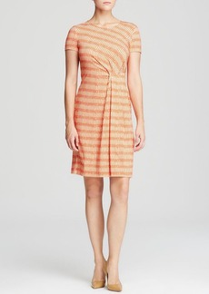 Lafayette 148 New York Gathered Waist Dress