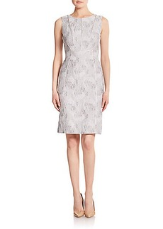 Lafayette 148 New York Gigi Jacquard Sheath Dress