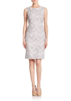 Lafayette 148 New York Gigi Jacquard Sheath Dress
