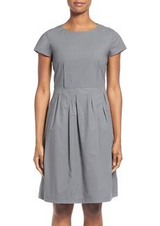 Lafayette 148 New York 'Gina' Cap Sleeve Fit & Flare Dress
