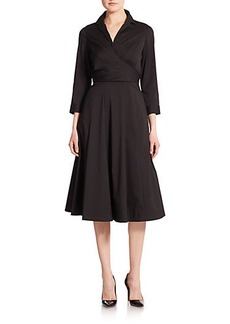 Lafayette 148 New York Ginger Wrap Dress