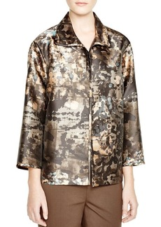 Lafayette 148 New York Griffin Abstract Print Jacket