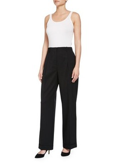 Lafayette 148 New York Harrison High-Rise Pleated Pants