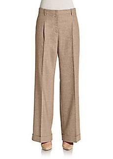 Lafayette 148 New York Harrison Wide-Leg Pants