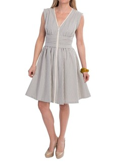 Lafayette 148 New York Hodo Cotton Dress - Sleeveless (For Women)