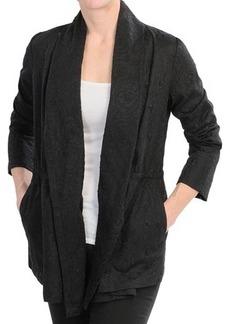 Lafayette 148 New York Ines Summer Linen Topper - Long Sleeve For Women)