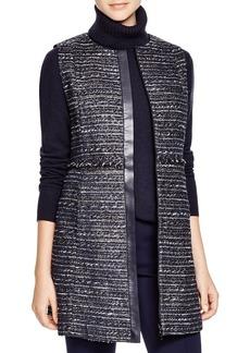 Lafayette 148 New York Inez Tweed Vest