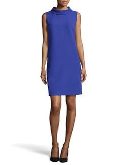 Lafayette 148 New York Iona Mock-Neck Wool Dress, Cosmic