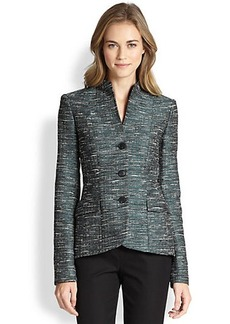 Lafayette 148 New York Jacquard Structured Jacket