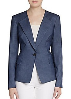 Lafayette 148 New York Janelle Virgin Wool-Blend Blazer