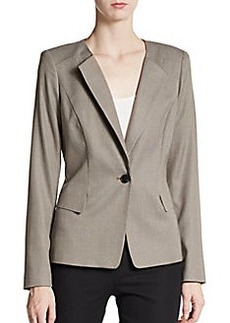 Lafayette 148 New York Janelle Wool & Silk Jacket