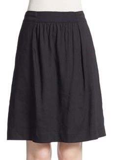 Lafayette 148 New York Janice Linen-Blend Skirt