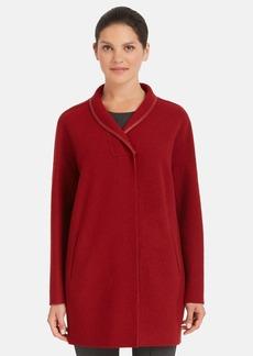 Lafayette 148 New York 'Jaqueline' Wool Coat