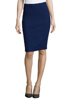 Lafayette 148 New York Javanese Modern Slim Pencil Skirt, Dusk