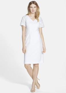 Lafayette 148 New York 'Jennica' Webbed Lace Sheath Dress