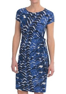 Lafayette 148 New York Jersey Print Dress - Short Sleeve (For Women)
