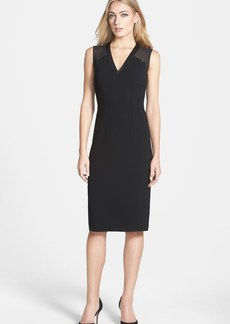 Lafayette 148 New York 'Jillesa - Finesse Crepe' Sheath Dress