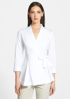 Lafayette 148 New York 'Jillian' Blouse (Regular & Petite)