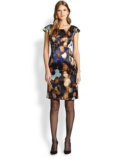 Lafayette 148 New York Josette Bubble-Print Dress