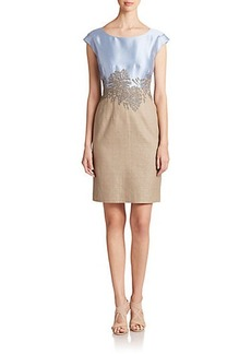 Lafayette 148 New York Josette Silk & Cotton Dress