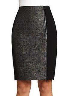 Lafayette 148 New York Jovana Jacquard Combo Skirt