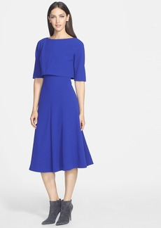 Lafayette 148 New York 'Julissa' Bodice Overlay Dress