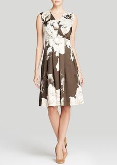 Lafayette 148 New York Junette Floral Print Dress
