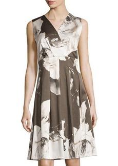 Lafayette 148 New York Junette Sleeveless A-Line Dress