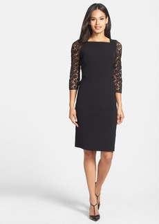 Lafayette 148 New York 'Karina' Sleek Tech Cloth Sheath Dress