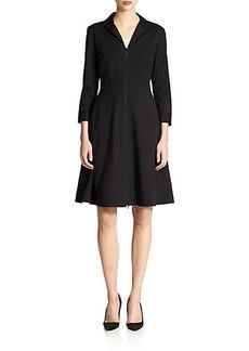 Lafayette 148 New York Kathy Zip-Front Dress