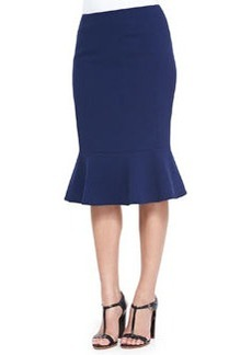 Lafayette 148 New York Kayline Peplum-Hem Pencil Skirt