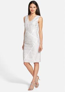 Lafayette 148 New York 'Kiersten - Sakura Jacquard' Sheath Dress