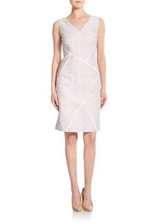 Lafayette 148 New York Kiersten Jacquard Cotton & Silk Dress