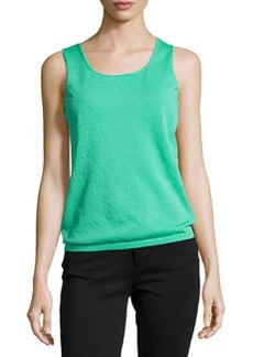 Lafayette 148 New York Knit Scoop-Neck Tank Top, Garden
