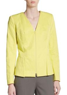 Lafayette 148 New York Lana Cotton-Blend Jacket