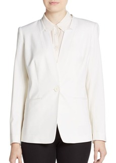 Lafayette 148 New York Langdon Stretch-Wool Blazer