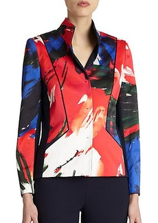 Lafayette 148 New York Laryn Printed Jacket