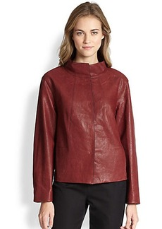 Lafayette 148 New York Leather Darra Topper