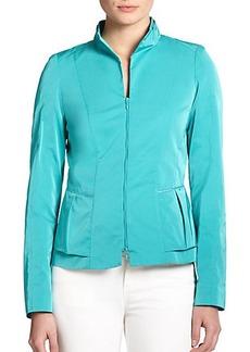 Lafayette 148 New York Lidia Ruffle-Detail Jacket