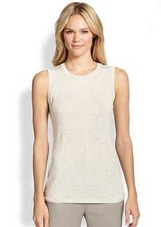 Lafayette 148 New York Linen-Blend Sweater Tank