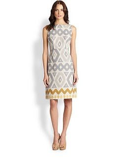 Lafayette 148 New York Linen Jeneca Dress