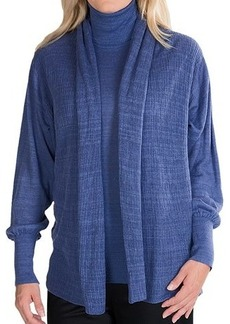 Lafayette 148 New York Lino Cardigan Sweater - Double Layer (For Women)